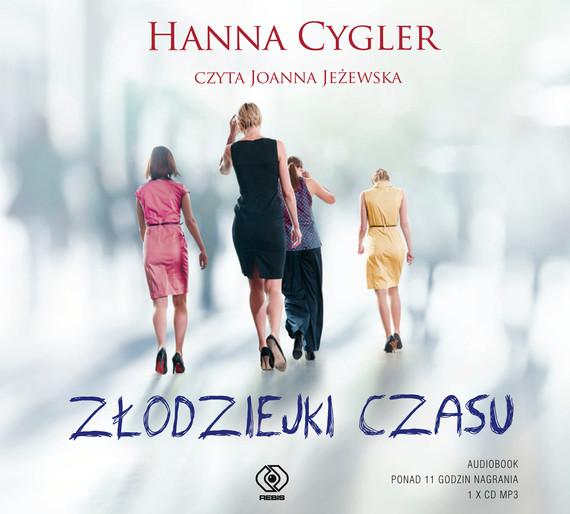 okładka Złodziejki czasuaudiobook   MP3   Hanna Cygler