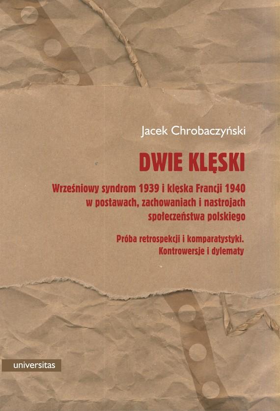 okładka Dwie klęski.ebook   pdf   Chrobaczyński Jacek