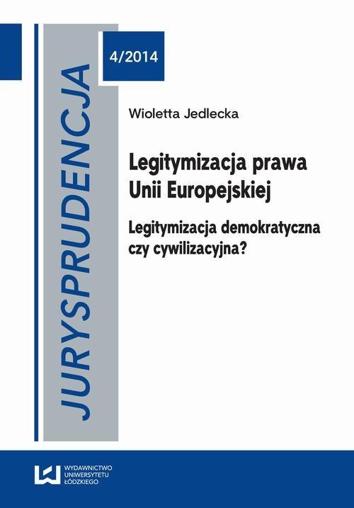 okładka Jurysprudencja 4/2014ebook | pdf | Wioletta Jedlecka