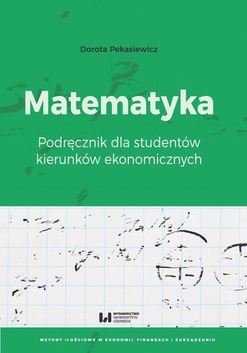 okładka Matematykaebook | pdf | Dorota Pekasiewicz
