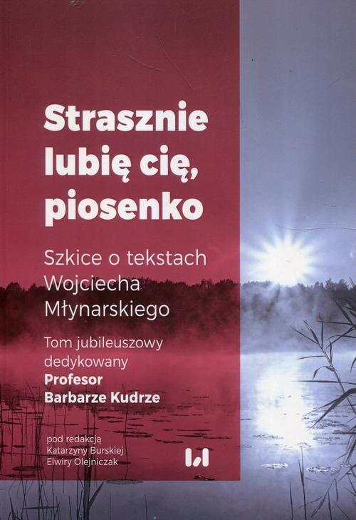 okładka Strasznie lubię cię piosenko Szkice o tekstach Wojciecha Młynarskiegoebook | pdf | NULL
