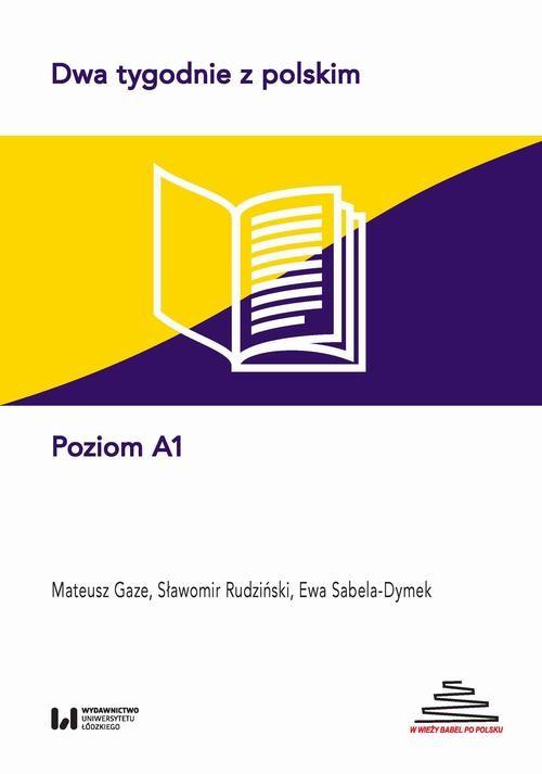okładka Dwa tygodnie z polskimebook | pdf | Ewa Sabela-Dymek,, Sławomir Rudziński,