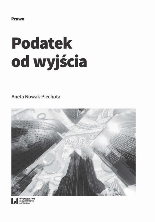 okładka Podatek od wyjściaebook   pdf   Aneta Nowak-Piechota