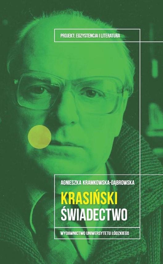 okładka Krasiński Świadectwoebook | epub, mobi, pdf | Kramkowska-Dąbrowska Agnieszka
