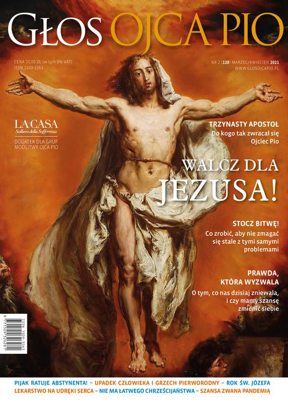 okładka Głos Ojca Pio nr 2 (128) marzec/kwiecień 2021ebook   pdf   Opracowanie zbiorowe