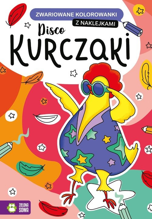okładka Zwariowane kolorowanki Disco kurczakiksiążka |  |