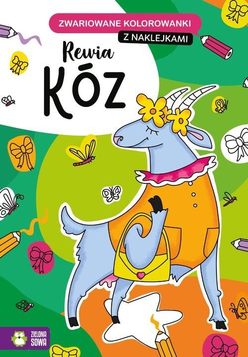 okładka Zwariowane kolorowanki Rewia kózksiążka |  |