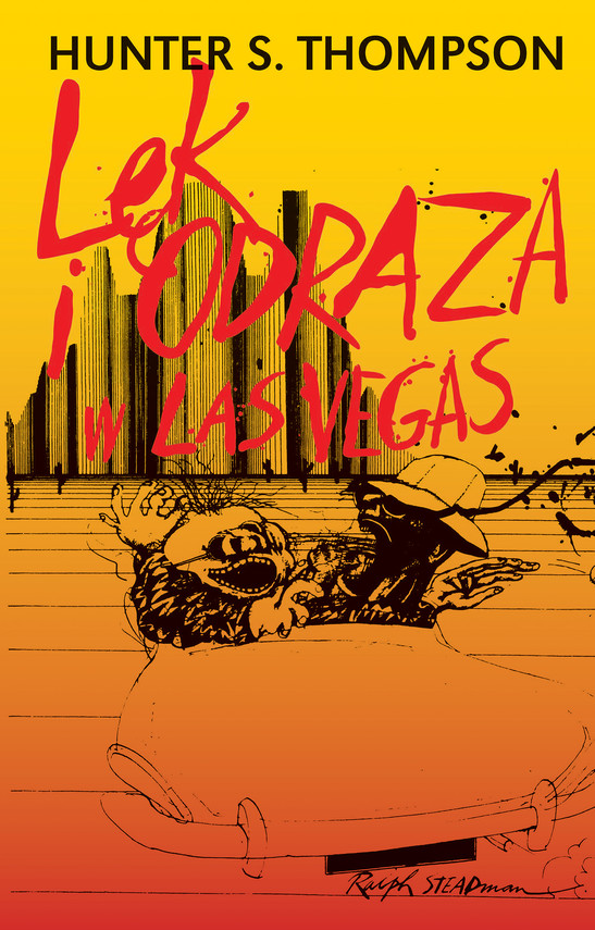 okładka Lęk i odraza w Las Vegasebook   epub, mobi   Hunter S. Thompson