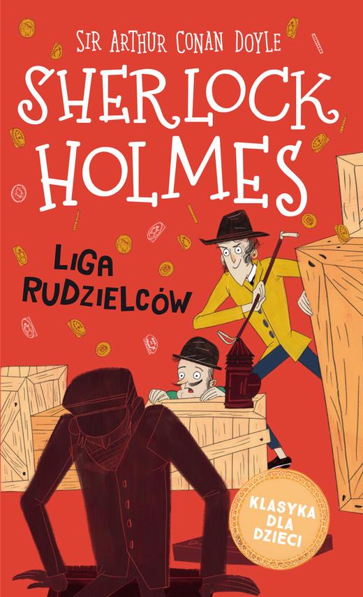 okładka Klasyka dla dzieci. Sherlock Holmes. Tom 5. Liga rudzielcówebook   epub, mobi   Arthur Conan Doyle