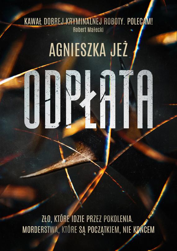 okładka Odpłataebook | epub, mobi | Agnieszka Jeż
