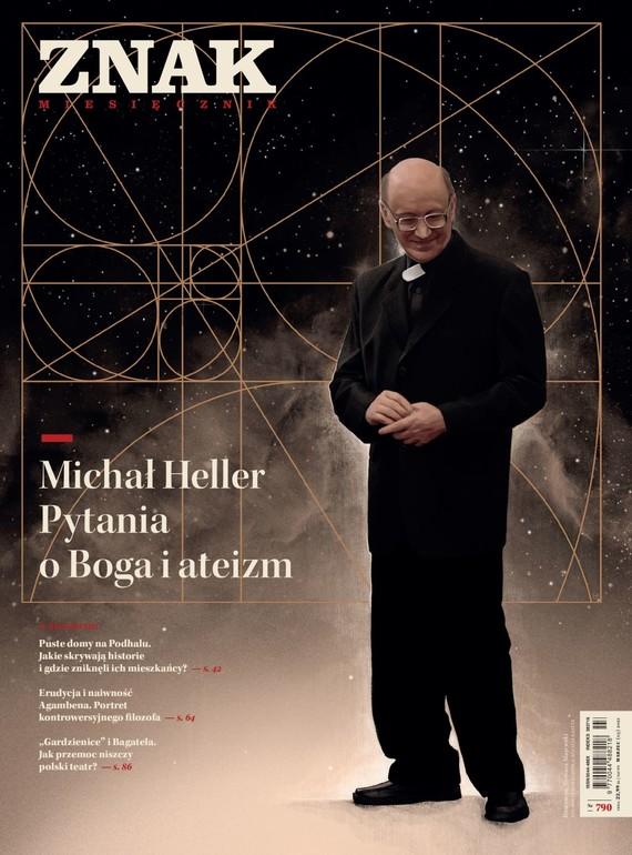 okładka ZNAK 790 03/2021 Michał Heller. Pytania o Boga i ateizmksiążka |  |