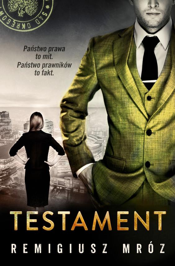 okładka Testamentebook | epub, mobi | Remigiusz Mróz