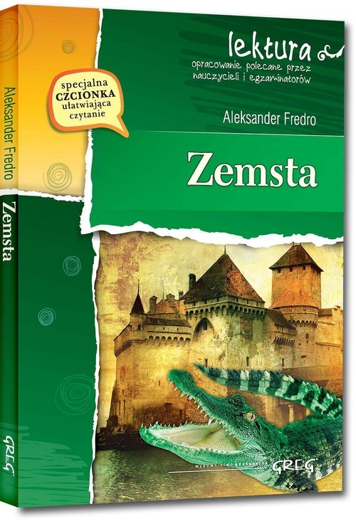 okładka Zemsta (wydanie z opracowaniem i streszczeniem)książka |  | Aleksander Fredro