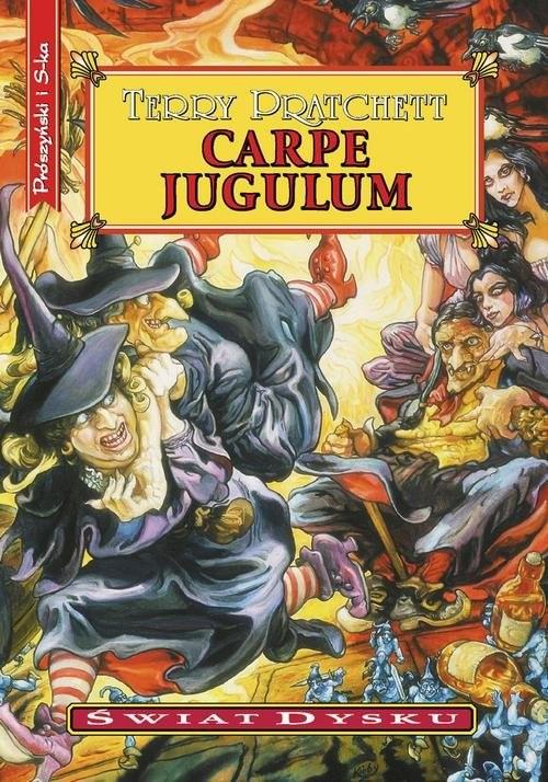 okładka Carpe Jugulumksiążka |  | Terry Pratchett