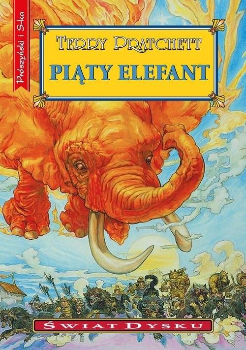 okładka Piąty elefantksiążka |  | Terry Pratchett