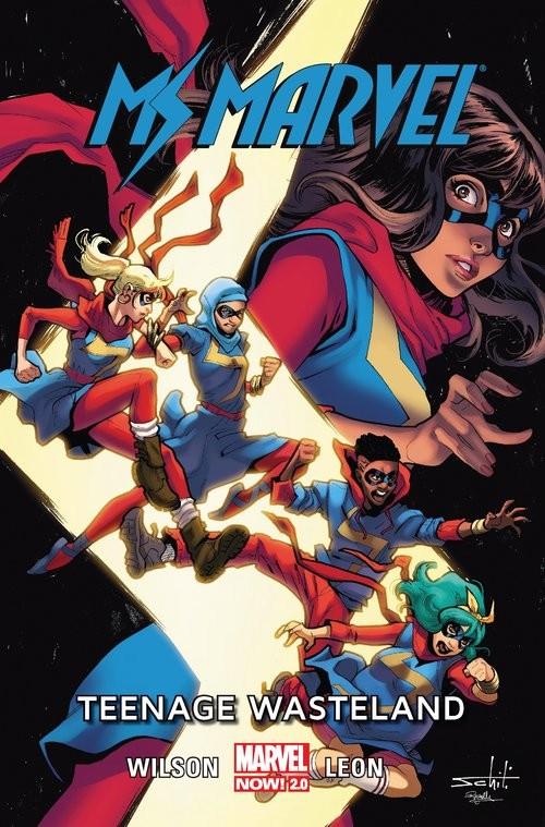 okładka Ms Marvel Tom 9 Teenage Wastelandksiążka |  |