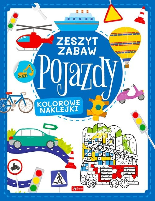 okładka Pojazdy Zeszyt zabawyksiążka |  | Tkocz Justyna