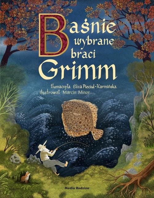 okładka Baśnie braci Grimm na podstawie II wydania z 1819 rokuksiążka      Wilhelm Grimm, Jakub Grimm