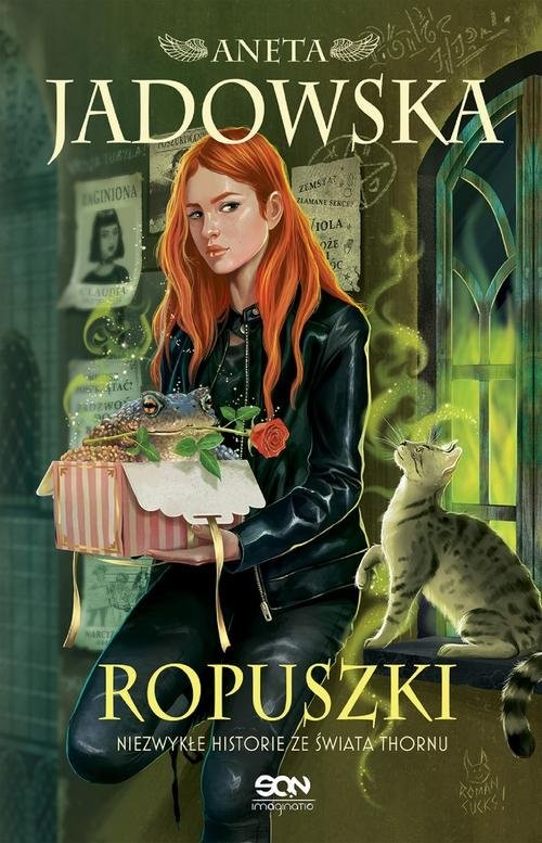 okładka Ropuszkiksiążka      Aneta Jadowska