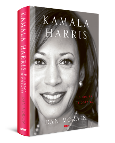 okładka Kamala Harris. Pierwsza biografiaksiążka |  | Dan Morain