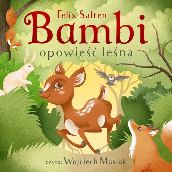 okładka Bambiaudiobook | MP3 | Felix Salten