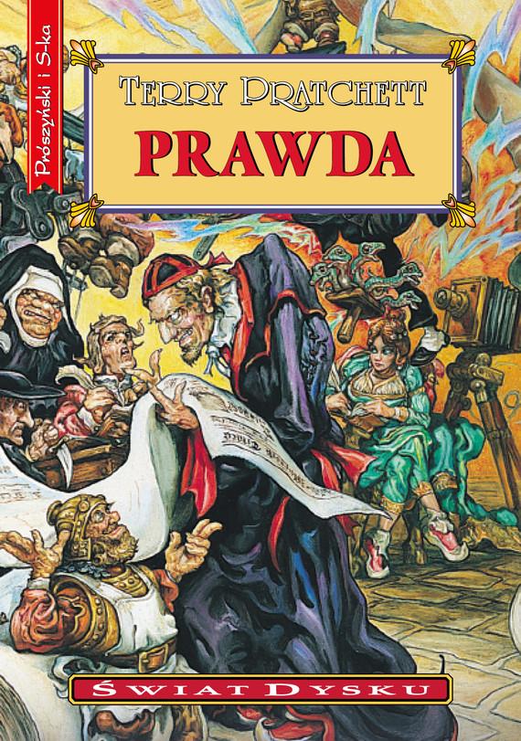 okładka Prawdaebook | epub, mobi | Terry Pratchett