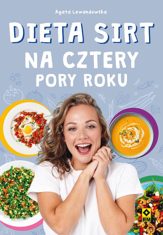 okładka Dieta SIRT na cztery pory rokuebook   pdf   Agata Lewandowska