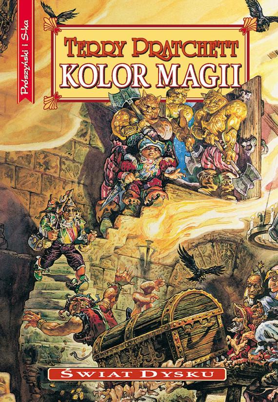 okładka Kolor magiiebook | epub, mobi | Terry Pratchett