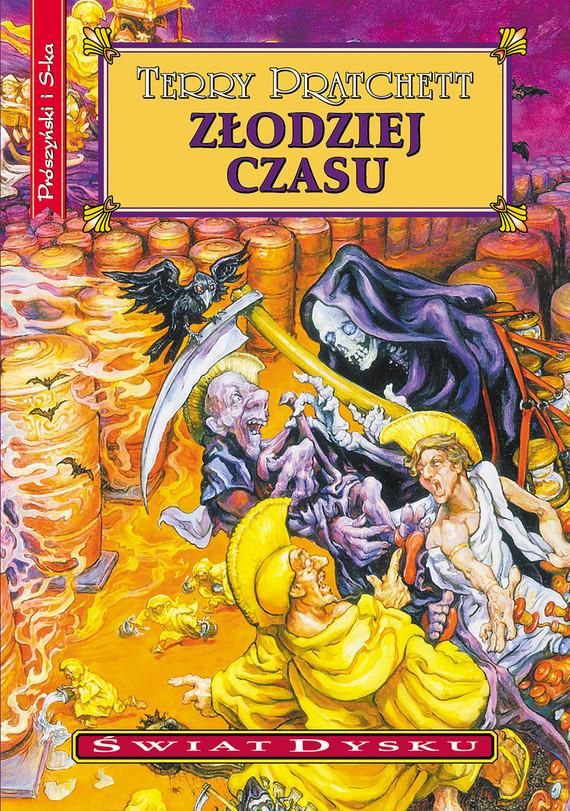 okładka Złodziej czasuebook | epub, mobi | Terry Pratchett