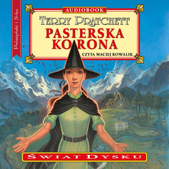 okładka Pasterska koronaaudiobook | MP3 | Terry Pratchett