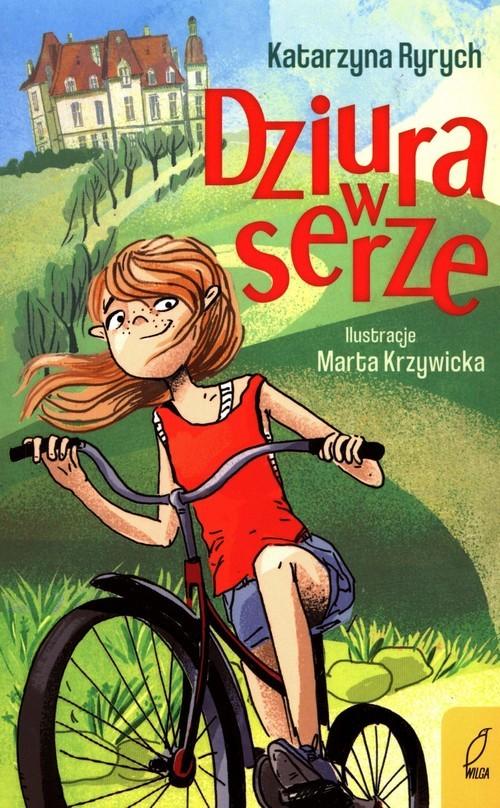 okładka Dziura w serzeksiążka      Katarzyna  Ryrych