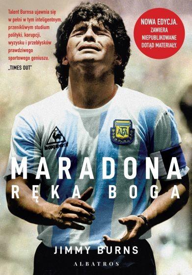 okładka Maradona. Ręka Bogaksiążka |  | Jimmy Burns