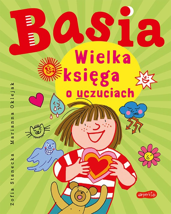 okładka Basia. Wielka księga o uczuciachebook | pdf | Zofia Stanecka, Marianna Oklejak