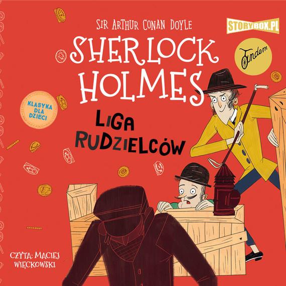 okładka Klasyka dla dzieci. Sherlock Holmes. Tom 5. Liga rudzielcówaudiobook | MP3 | Arthur Conan Doyle