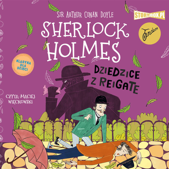 okładka Klasyka dla dzieci. Sherlock Holmes. Tom 6. Dziedzice z Reigateaudiobook | MP3 | Arthur Conan Doyle