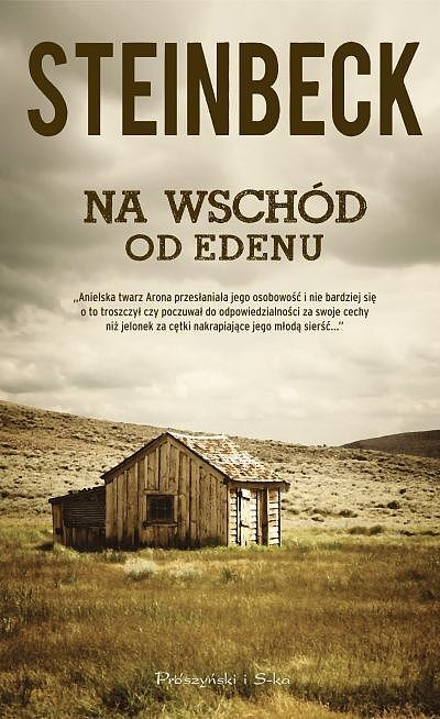 okładka Na wschód od Edenuebook | epub, mobi | John Steinbeck
