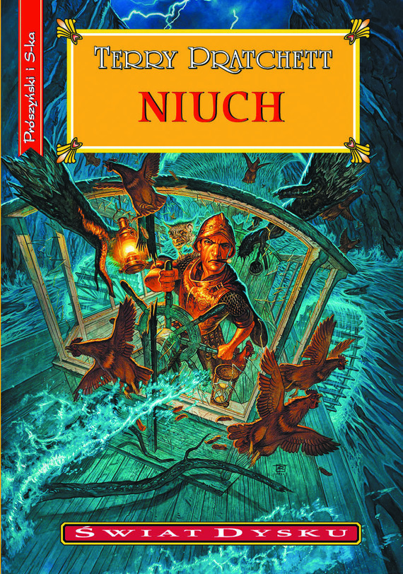 okładka Niuchebook | epub, mobi | Terry Pratchett