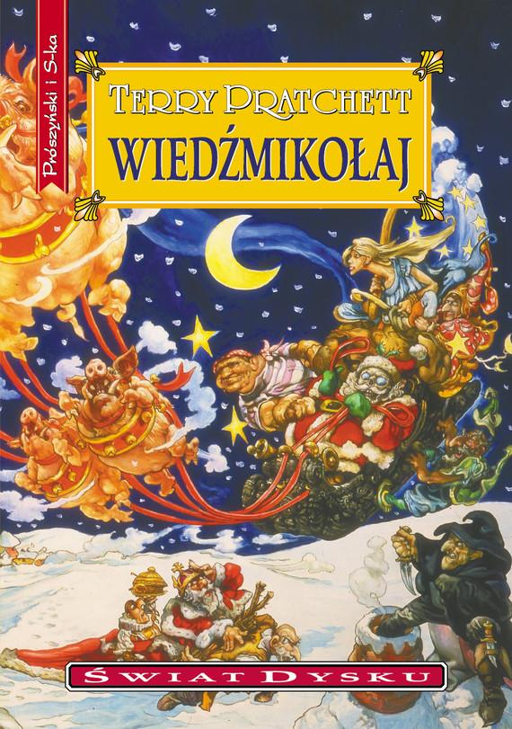 okładka Wiedźmikołajebook   epub, mobi   Terry Pratchett