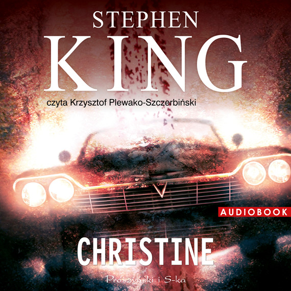okładka Christineaudiobook | MP3 | Stephen King