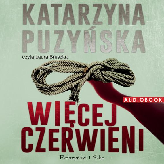okładka Więcej czerwieniaudiobook   MP3   Katarzyna Puzyńska