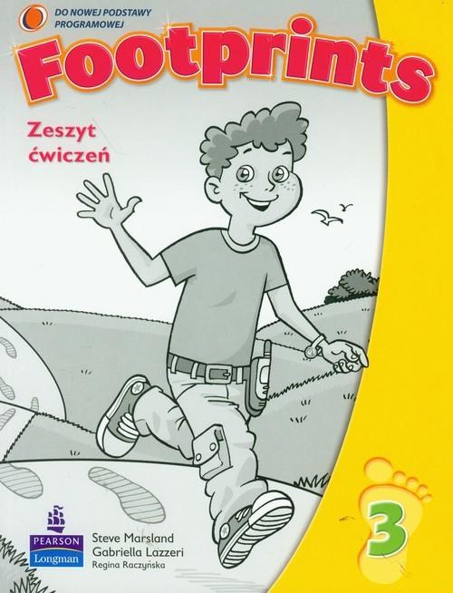okładka Footprints 3 Zeszyt ćwiczeń + Poradnik dla rodziców Szkoła podstawowaksiążka |  | Steve Marsland, Gabriella Lazzeri