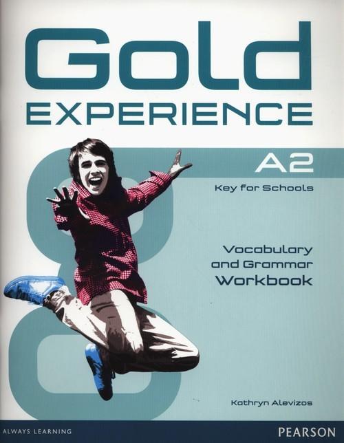 okładka Gold Experience A2 Grammar & Vocabulary Workbokksiążka      Alevizos Kathryn