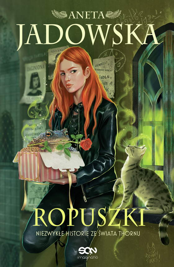 okładka Ropuszkiebook   epub, mobi   Aneta Jadowska