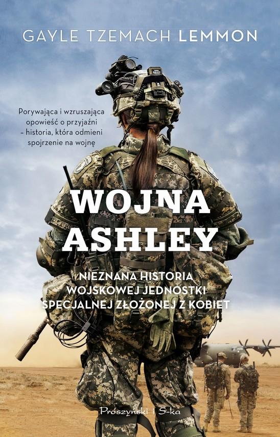 okładka Wojna Ashleyebook   epub, mobi   Gayle Tzemach Lemmon
