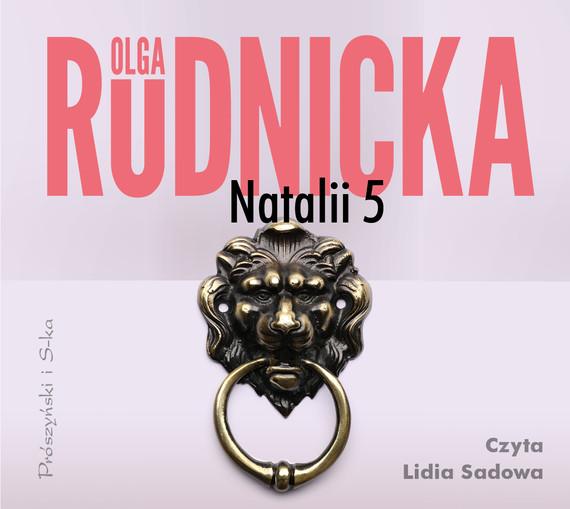 okładka Natalii 5audiobook   MP3   Olga Rudnicka