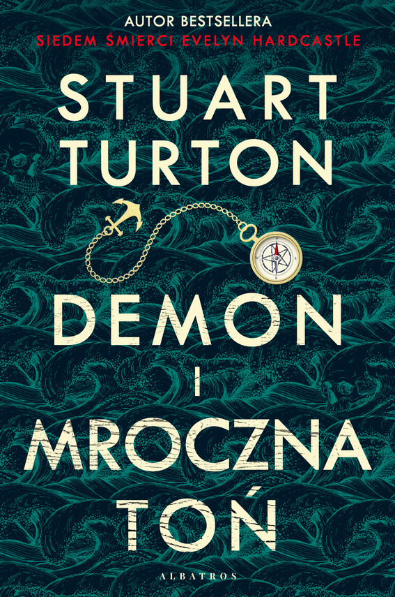 okładka DEMON I MROCZNA TOŃebook   epub, mobi   Stuart Turton