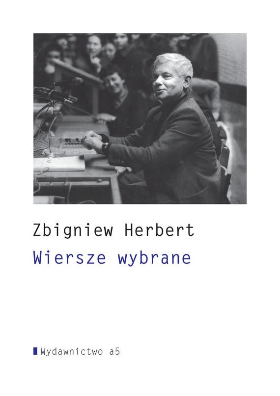 okładka Wiersze wybraneebook | epub, mobi | Zbigniew Herbert