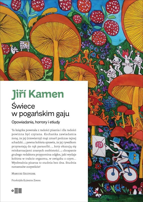 okładka Świece w pogańskim gajuebook | epub, mobi | Kamen Jiří