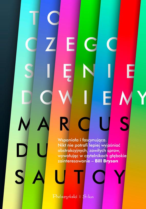 okładka To, czego się nie dowiemyebook | epub, mobi | Marcus du Sautoy