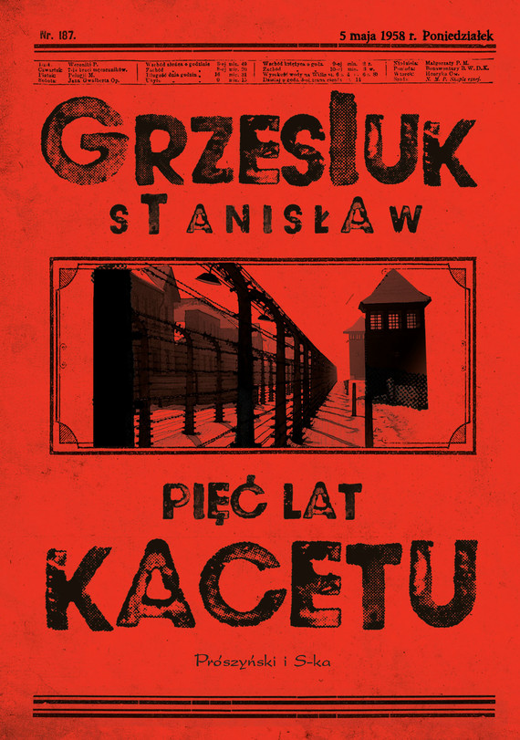 okładka Pięć lat kacetuebook | epub, mobi | Stanisław Grzesiuk
